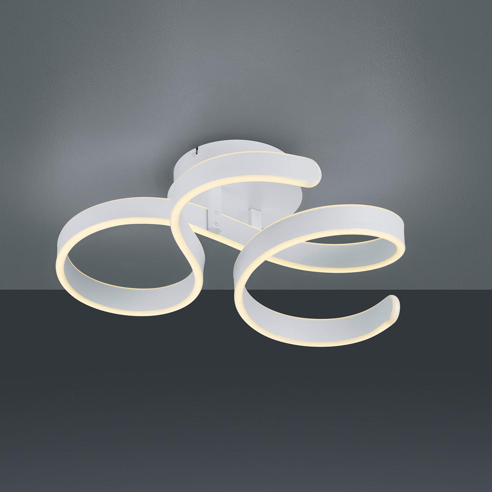 LED-kattovalaisin Francis, matta valkoinen