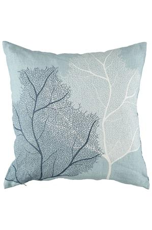 Kuddfodral Coral 50x50 cm Ljusblå