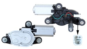 Pyyhkijän moottori, Takana, ALFA ROMEO 147, 50506921, 60697309