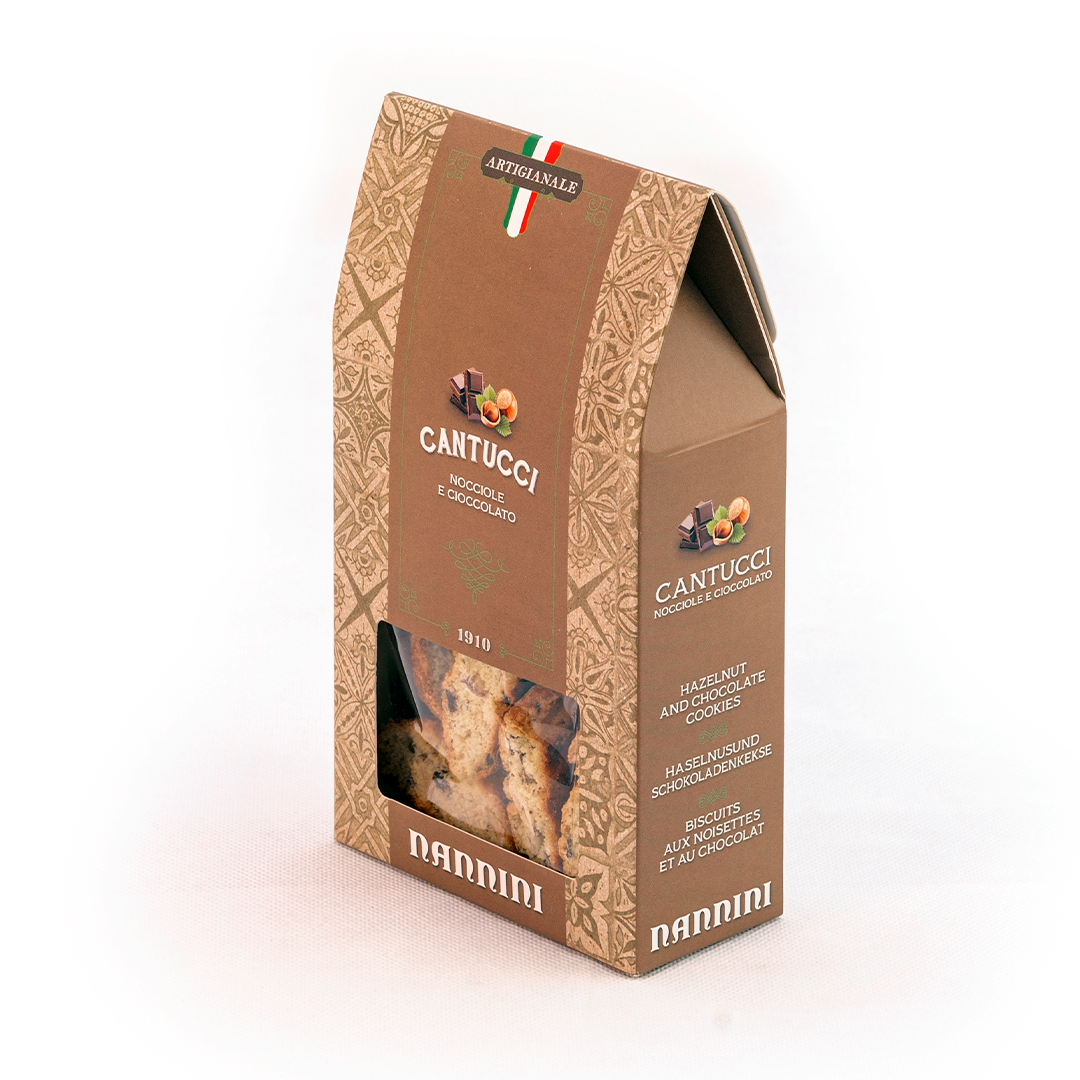 Cantuccini with Hazelnuts 200g by Nannini