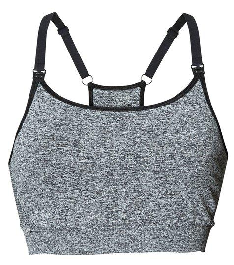 Boob Amme-BH Sport, Dark Grey Melange S