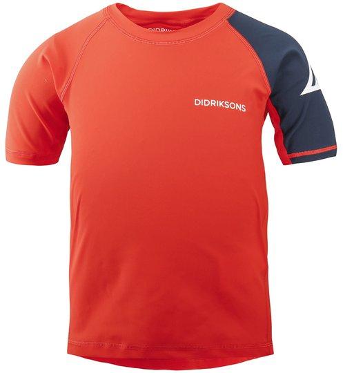 Didriksons Surf UV T-Skjorte, Tile Orange, 80