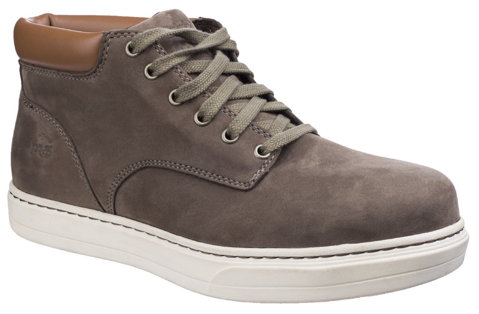 Timberland Pro Men's Disruptor Chukka Lace up Safety Boot Brown 26365 - Donkey 6
