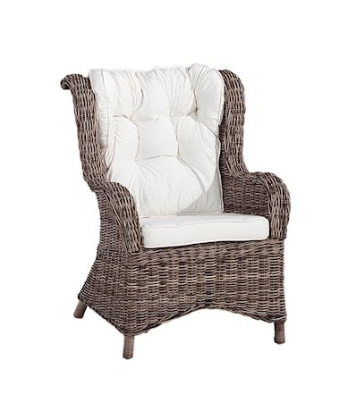 Wingchair exklusive dyna Kubu Grey