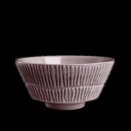 Stripes Skål Plommon 15cm/70cl
