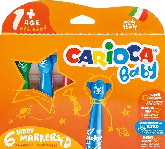 Carioca Bamsepenner 6-Pack