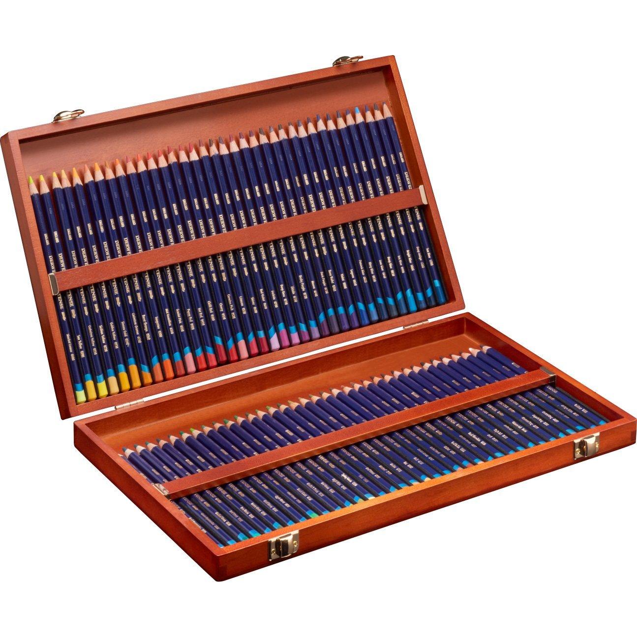 Derwent - Inktense Pencils, 72 Wooden Box