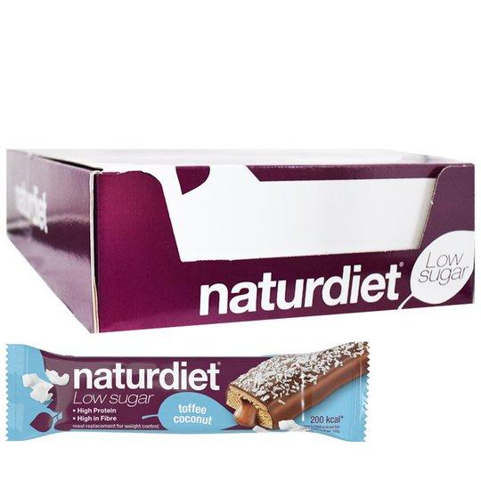Ateriankorvikepatukoita Toffee & Coconut 18kpl - 28% alennus