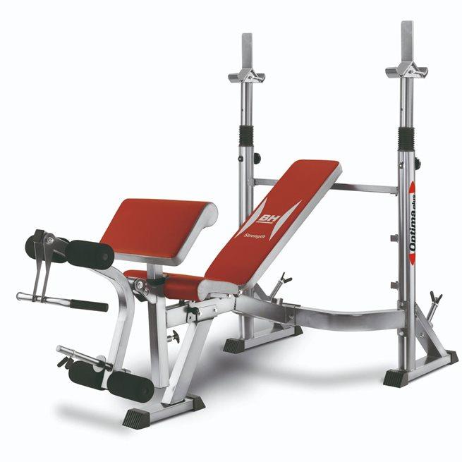 BH Fitness OPTIMA PRESS, Träningsbänkar