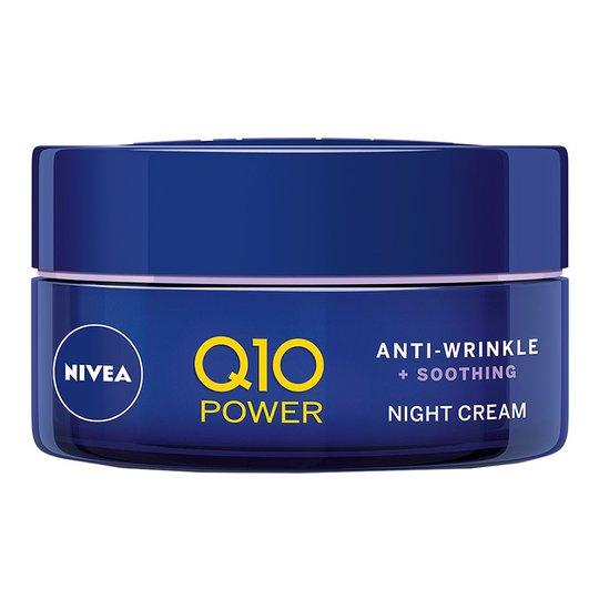 Q10 Plus Power Anti-Wrinkle Sensitive Night, 50 ml Nivea Kasvovoiteet