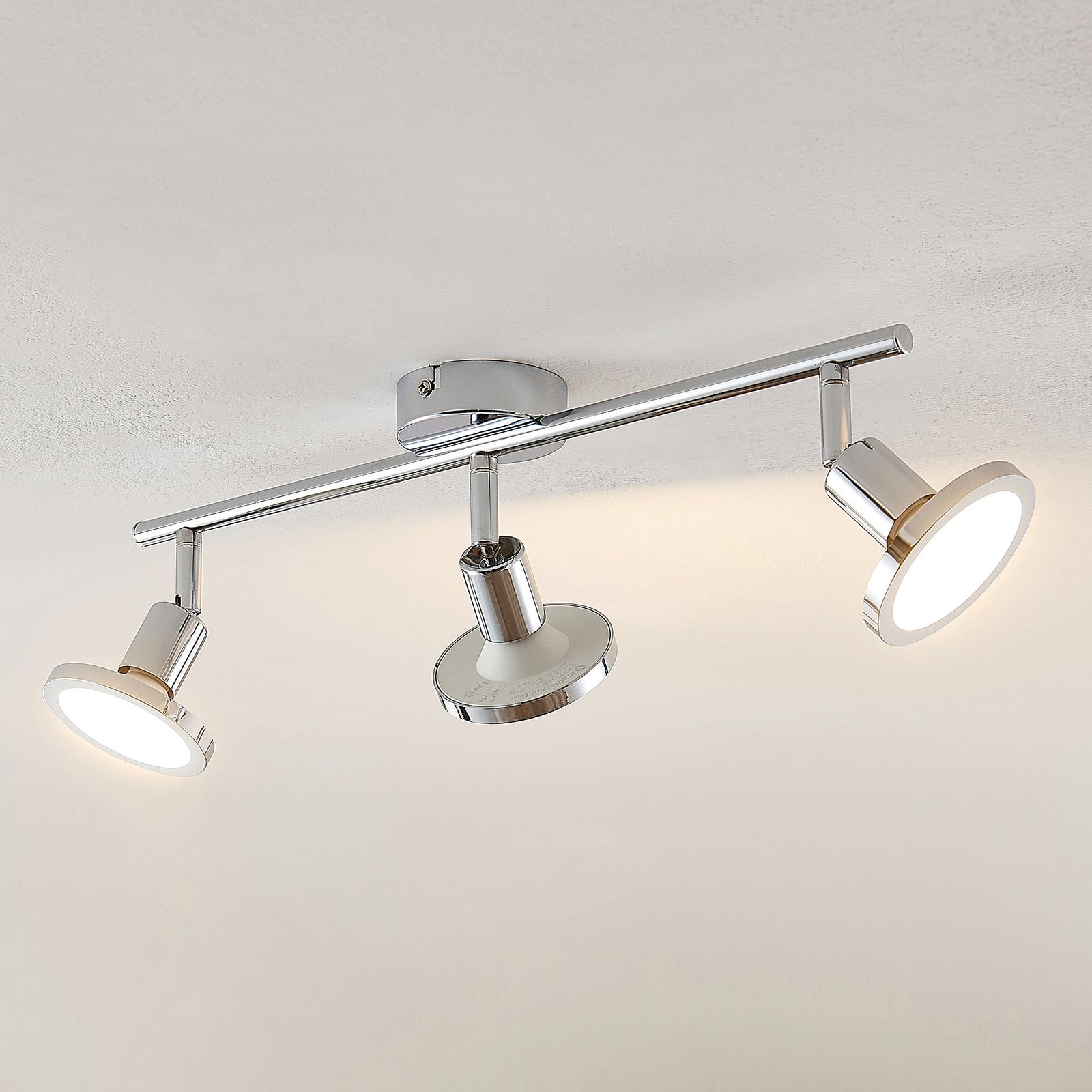 Lindby Ayden LED -kattovalaisin, kolmilamppuinen