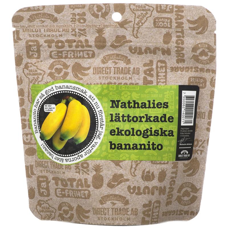 Torkade Bananer 130g - 35% rabatt