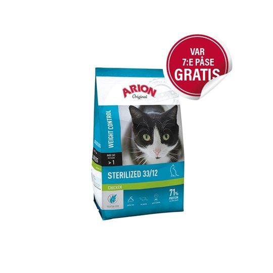 Arion Original Cat Sterilized Chicken (7,5 kg)