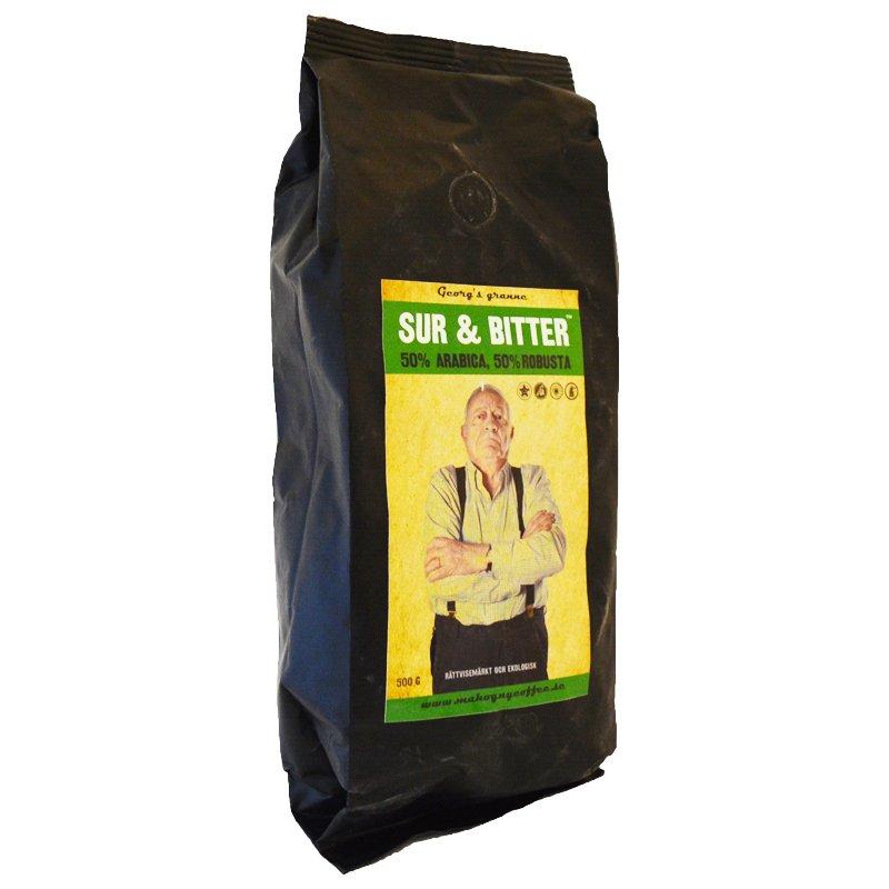 """Kahvipavut """"Sur & Bitter"""" 500 g - 60% alennus"""