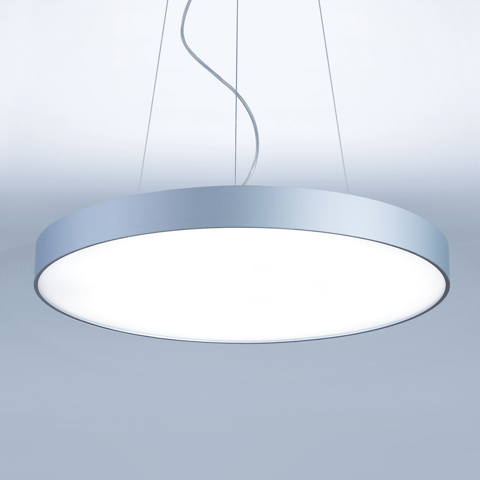 Pyöreä LED-riippuvalaisin Basic-P1 - 30 cm
