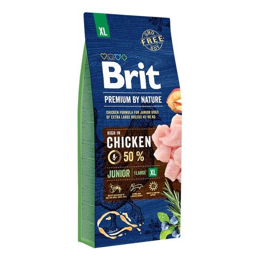 Brit Premium By Nature Junior XL (15kg)