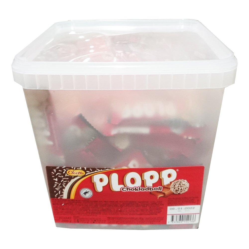Plopp Chokladboll Storpack - 2 kg
