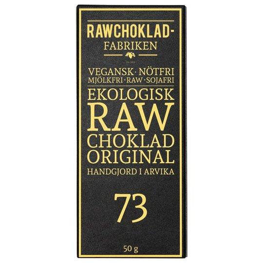 Rawchokladfabriken Ekologisk Rawchoklad Original 73%, 50 g
