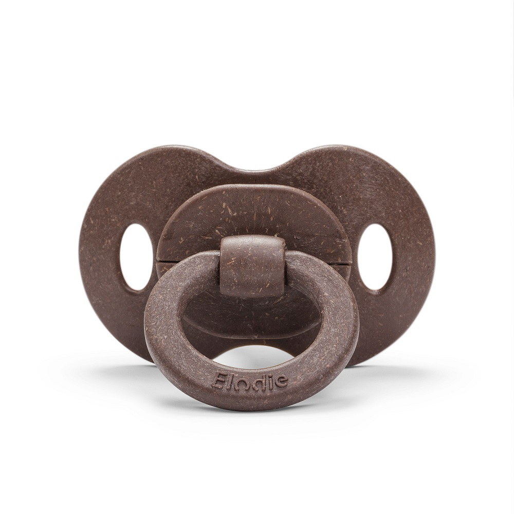Bamboo Soother Natural Rubber 3+ months - Chocolate
