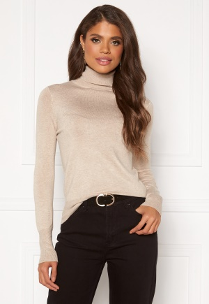 ONLY Venice L/S Rollneck Pullover KNT Whitecap Gray L