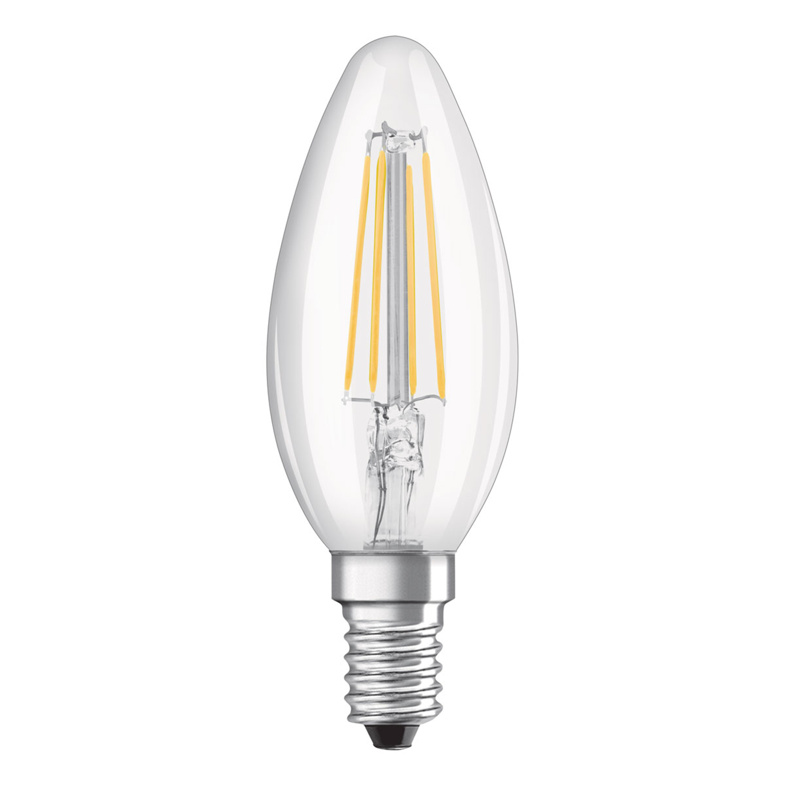 OSRAM-LED-kynttilälamppu E14 4W Classic B 2 700 K