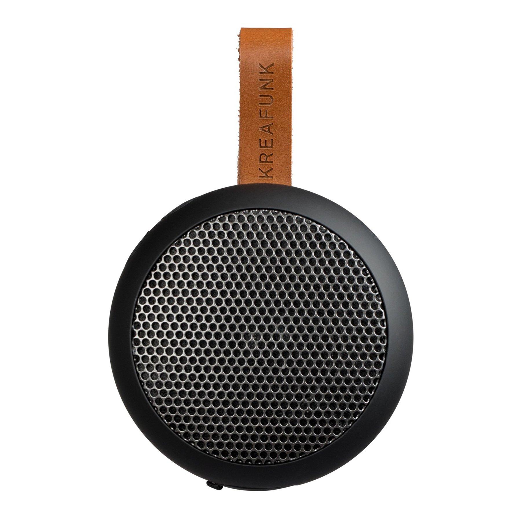 KreaFunk - aGO Bluetooth Speaker - Black Edition/Gun Metal Grill (Kfwt30)