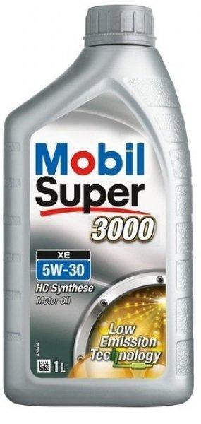 Moottoriöljy MOBIL 5W30 SUPER 3000 XE 1L