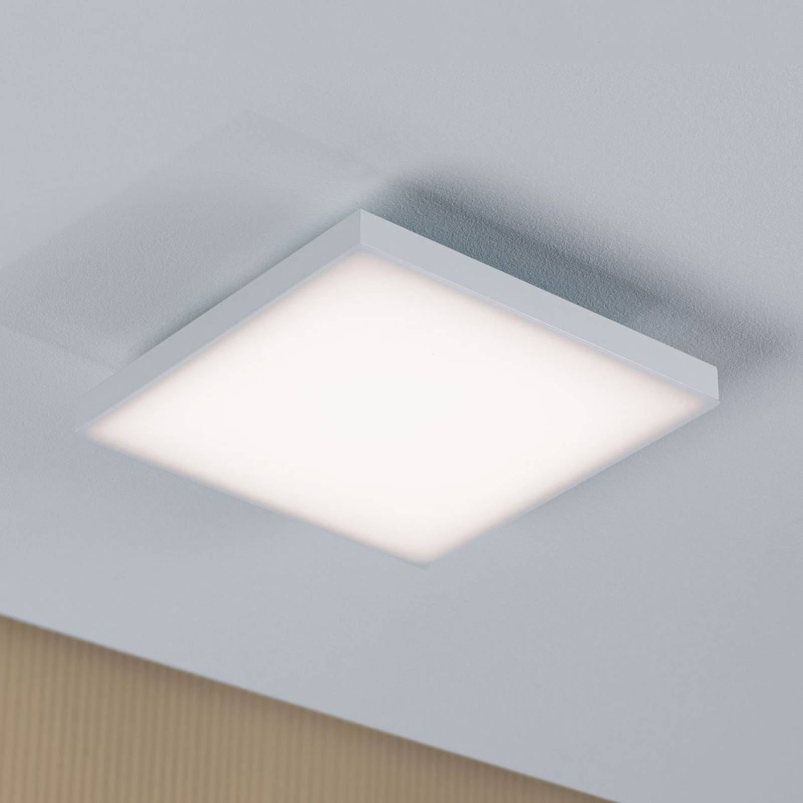 Paulmann Velora -LED-kattovalaisin 22,5 x 22,5 cm