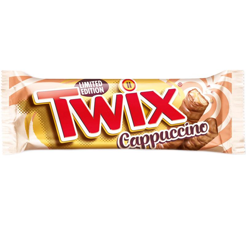 """Twix """"Cappuccino"""" 46g - 44% rabatt"""