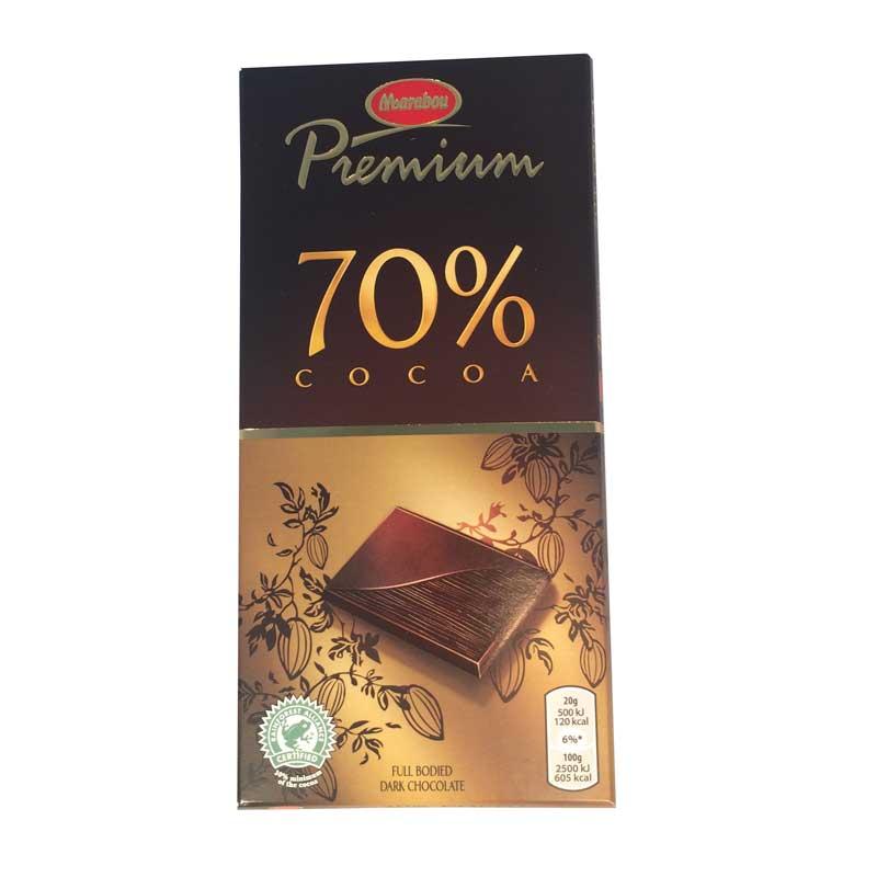 Marabou premium 70% cocoa - 50% rabatt
