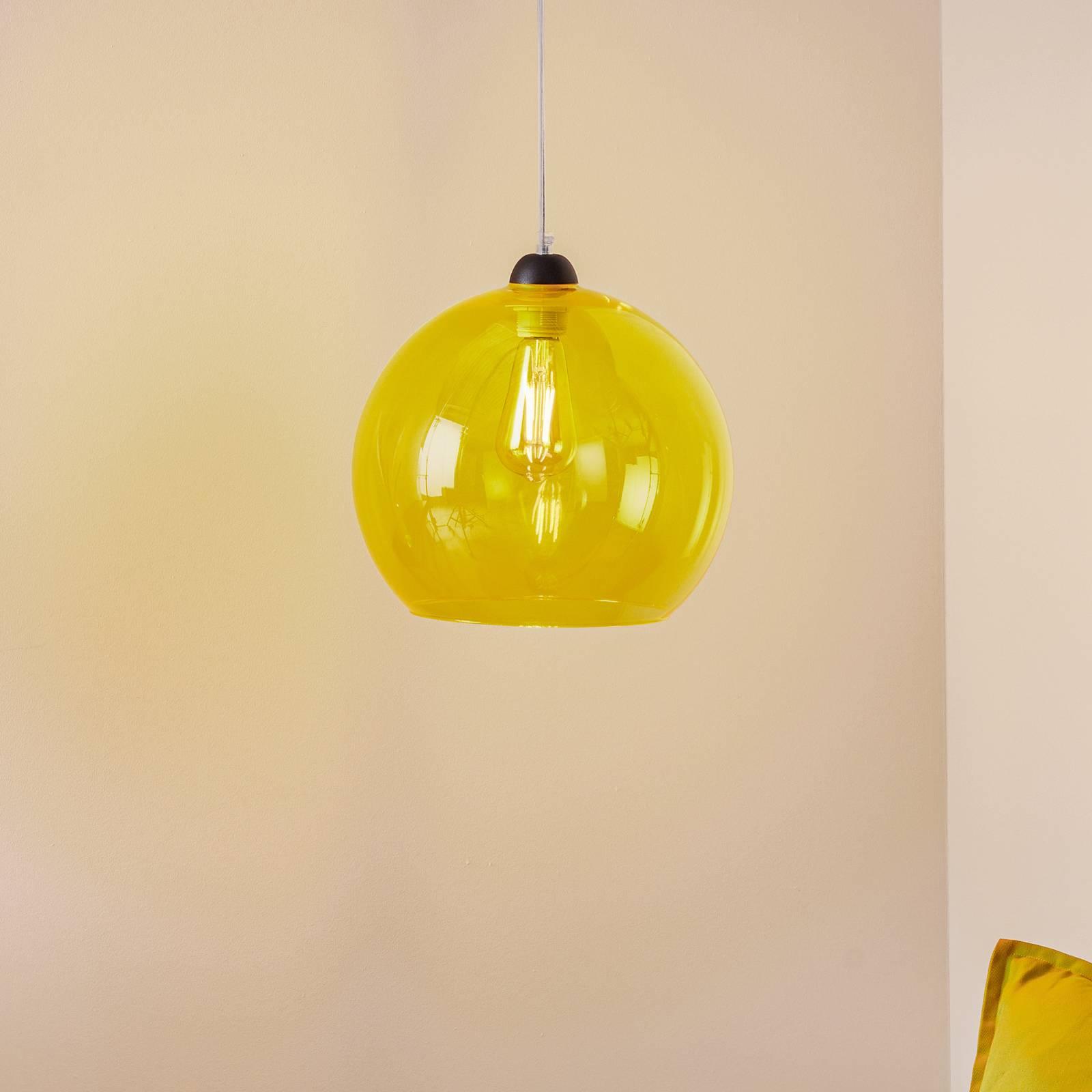 Riippuvalo Colour, keltainen lasivarjostin