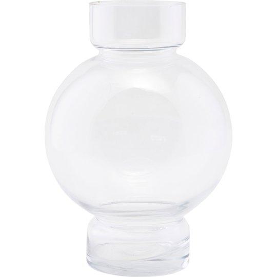 House Doctor Bubble vas, klar, h: 25 cm.