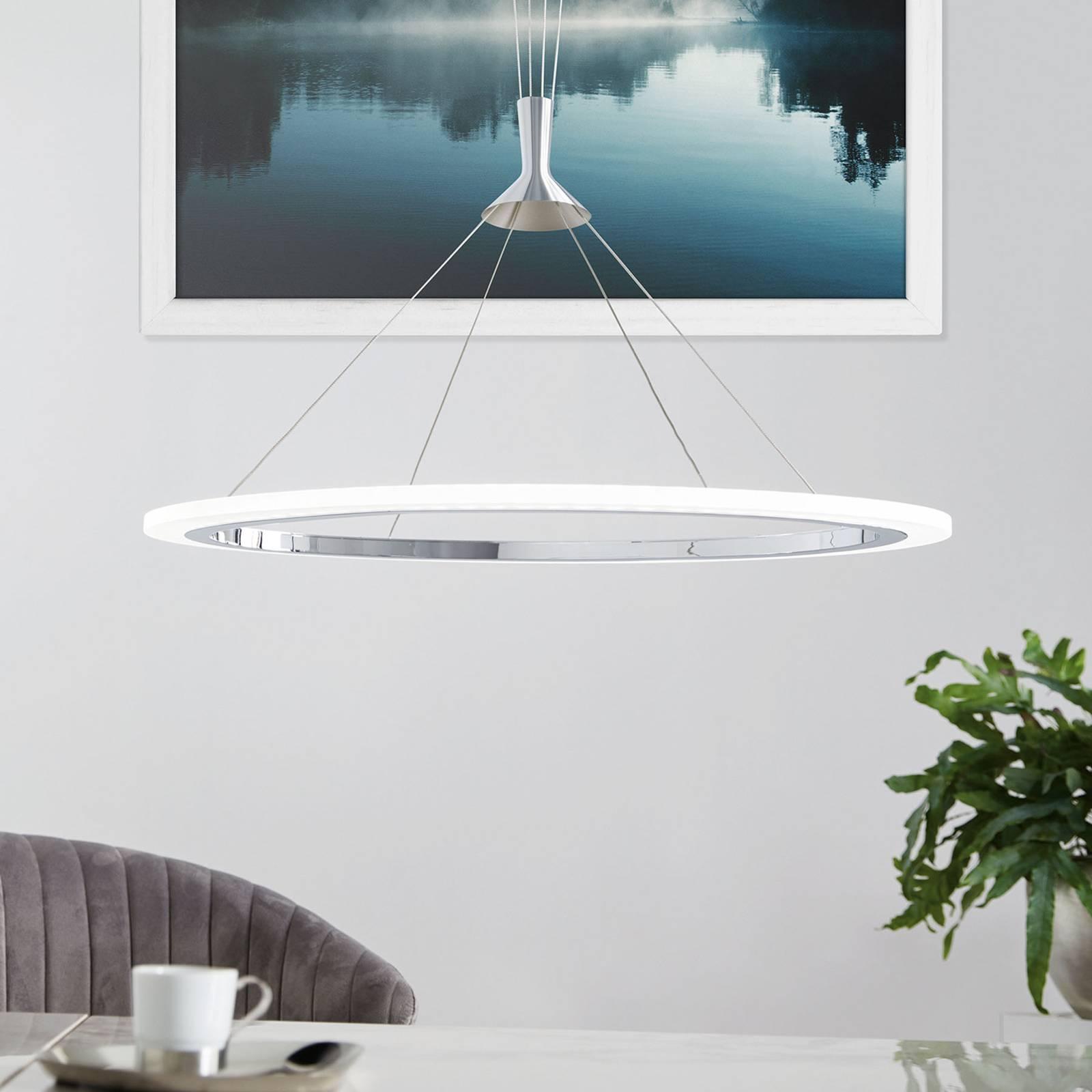 EGLO connect Hornitos-C -LED-riippuvalaisin pyöreä