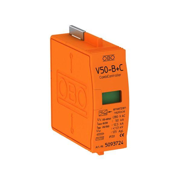 Obo Bettermann 5093724 Reservepatron med termisk og dynamisk skilleanordning