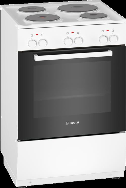 Bosch Hqa005020u Serie 2 Glaskeramikspis - Vit