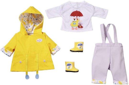 BABY Born Dukkeklær Deluxe Rain Sett 43cm