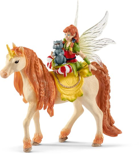 Schleich Fairy Marween Med Glitterenhjørning