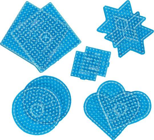 Hama Maxi Perlebrett 10-Pack Geometriske Former