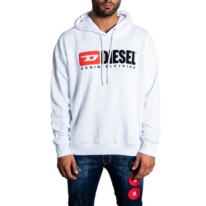 Diesel Men's Sweatshirts White 321222 - white S