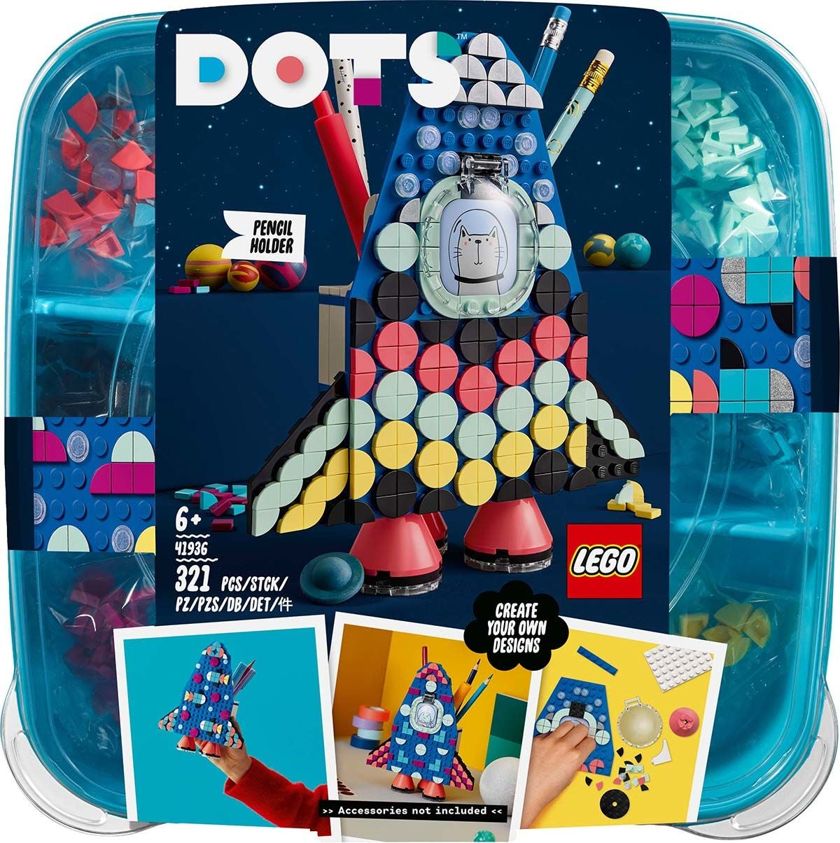 LEGO DOTS 41936 Kynäteline