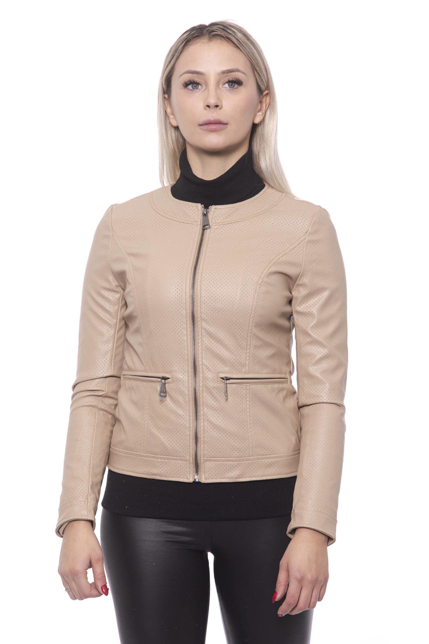 19V69 Italia Women's Jacket Beige 191388269 - M