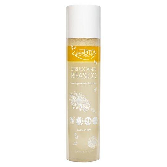 puroBIO Cosmetics Make-up Remover Dual-phase, 200 ml