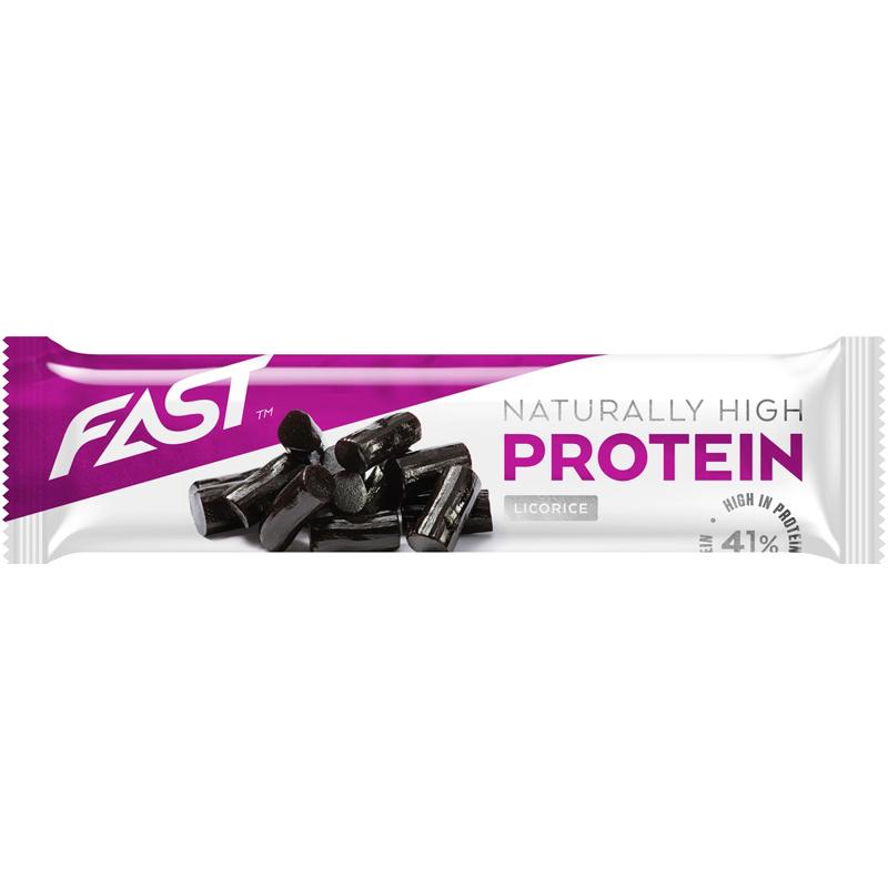 """Proteinbar """"Licorice"""" 35g - 50% rabatt"""