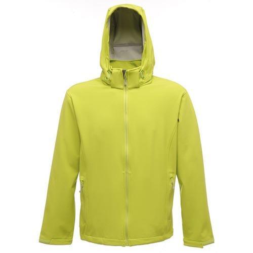 Regatta Men's Arley Standout Softshell Jacket Various Colours T_TRA671 - Key Lime/Light Steel S