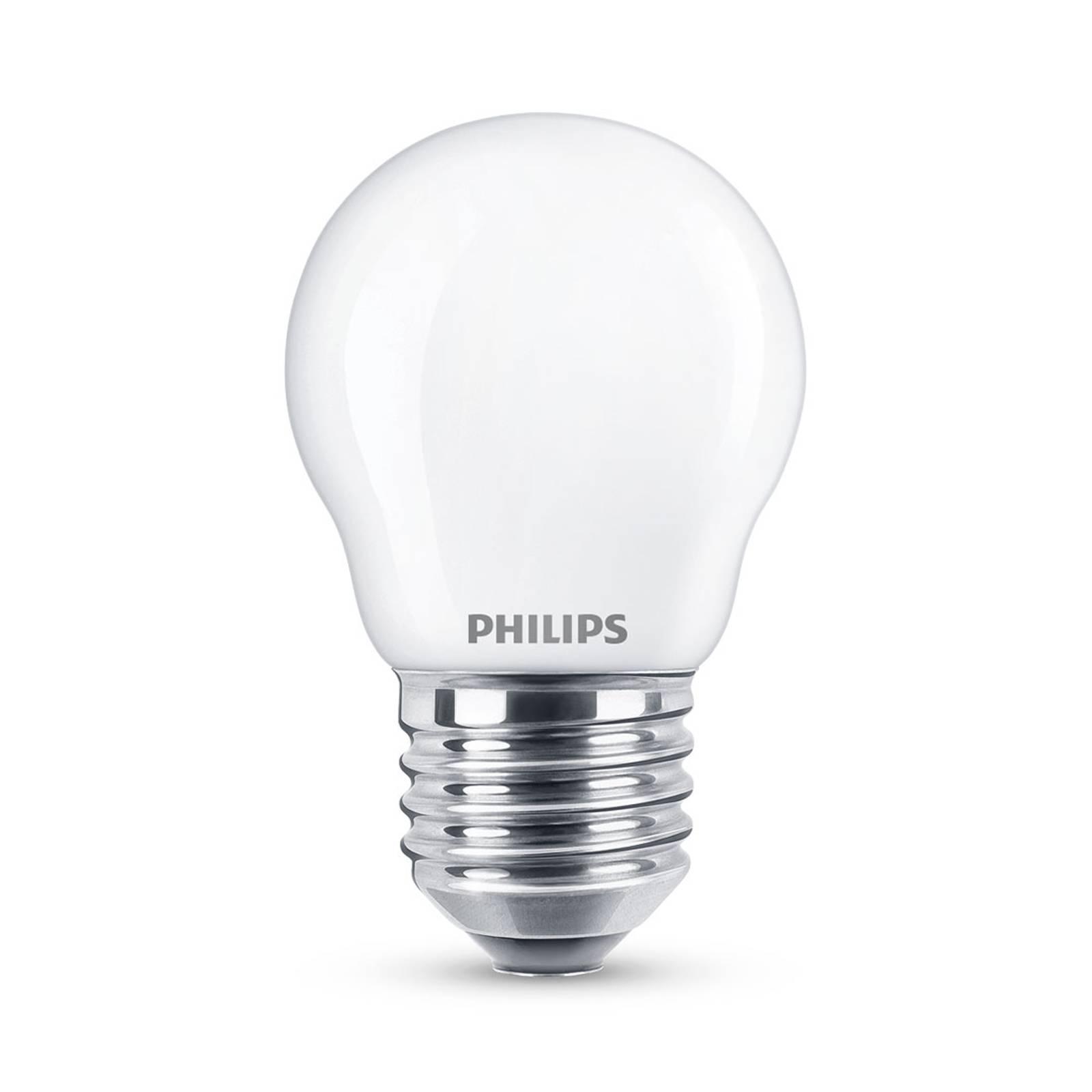 Philips Classic LED-lamppu E27 P45 6,5W 2 700 K