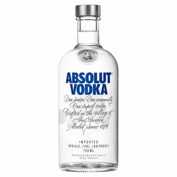 Absolut Blue Vodka 70cl