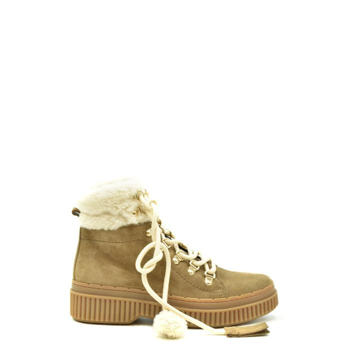 Tod`s Women's Boots Beige 186011 - beige 36