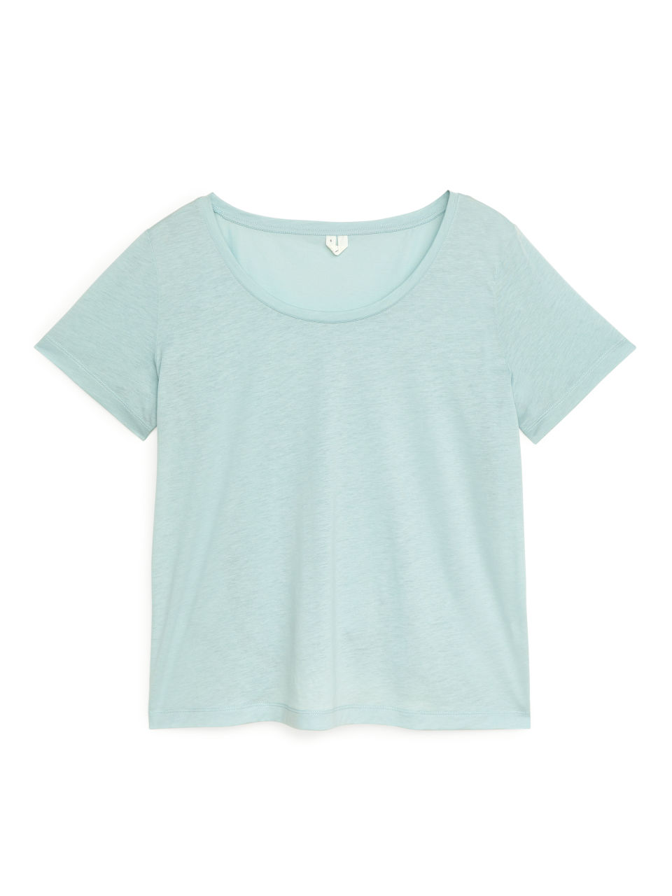 Lyocell Blend T-Shirt - Turquoise