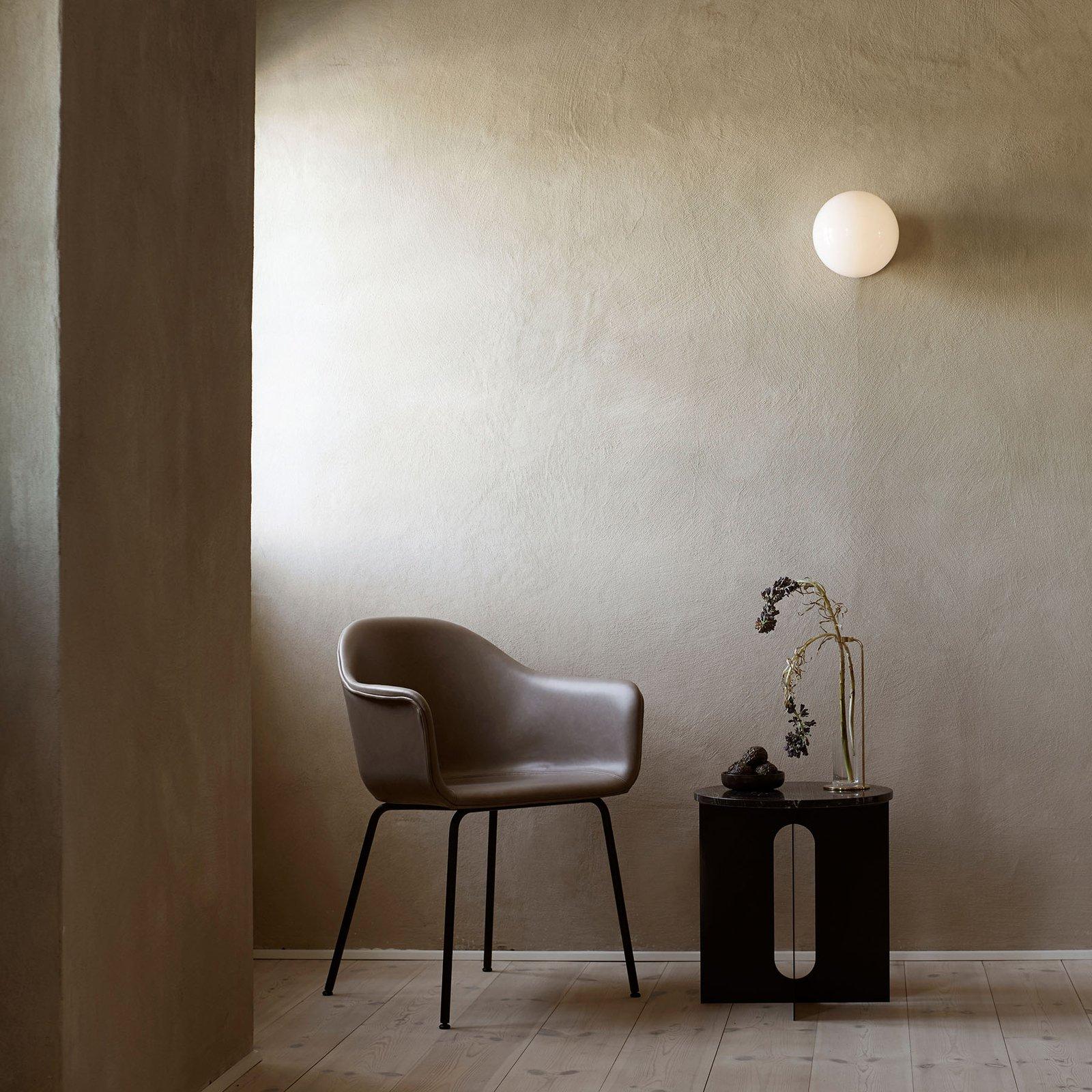 Menu TR Bulb LED-taklampe svart/opal blank