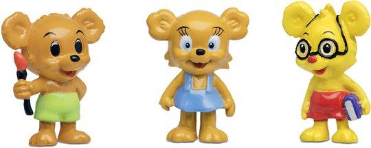 Bamse - Verdens sterkeste bjørn Figursett Nalle-Maja, Brum & Teddy